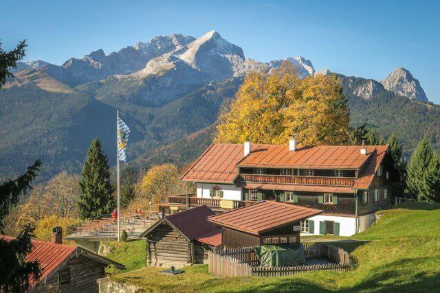 Ausflugsziele Bayern Garmisch Patenkirchen Das Graseck Gasthof Eckbauer