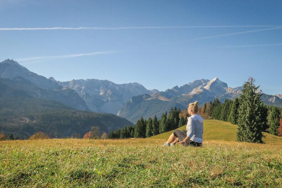 Ausflugsziele Bayern Garmisch Patenkirchen Das Graseck Wandern Zugspitze Alpspitze Berge