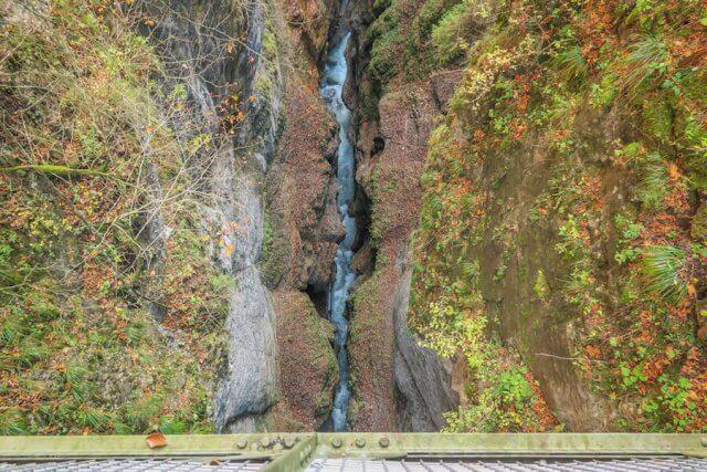 Ausflugsziele Bayern Eiserne Brücke Partnachklamm