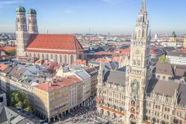 Ausflugsziele Bayern München Alter Peter Marienplatz