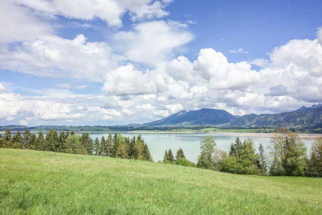 Ausflugsziele Bayern Forggensee Füssen