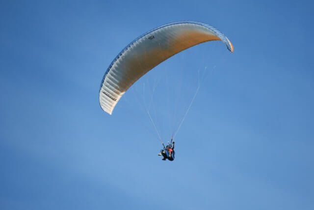 Ausflugsziele Bayern Füssen Tegelberg Paragliding