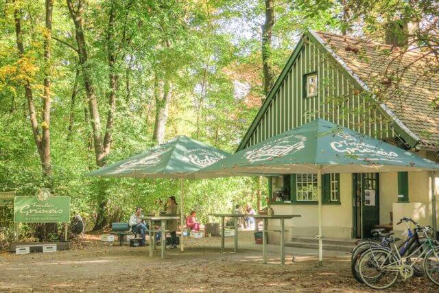 Ausflugsziele Bayern Englischer Garten Fräulein Grüneis Kiosk