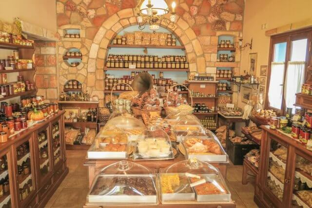 Kykladeninsel Milos Pollonia Cafe