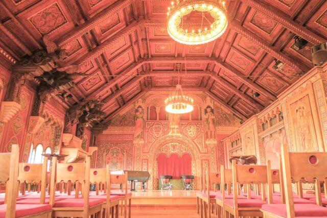 Roadtrip Deutschland Wartburg Festsaal