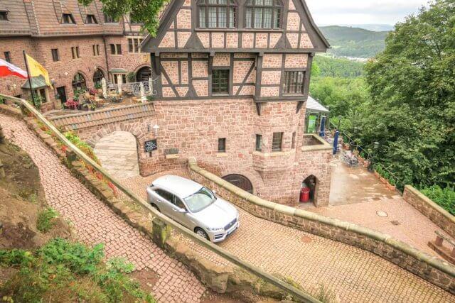 Roadtrip Deutschland Wartburg Einfahrt