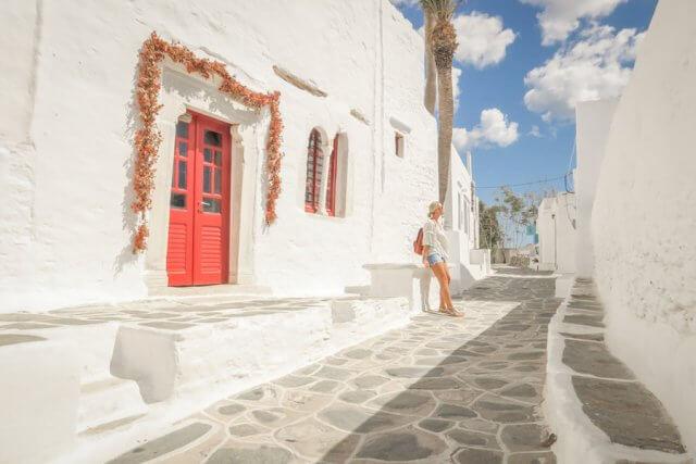 Sifnos Griechenland Kastro