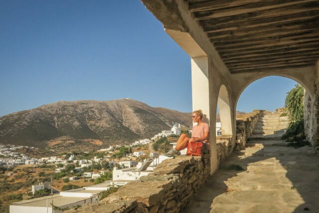 Sifnos Griechenland Sifnos Trails Wandern