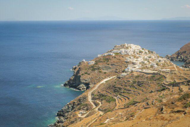 Sifnos Griechenland Wandern Kastro