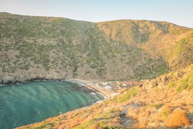 Sifnos Griechenland Vroulidia Strand