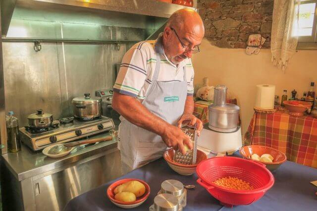 Sifnos Griechenland Narlis Farm Kochkurs
