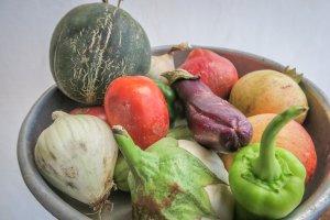 Sifnos Griechenland Narlis Farm Gemüse