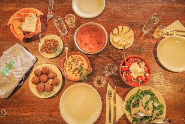 Sifnos Griechenland Narlis Farm Essen