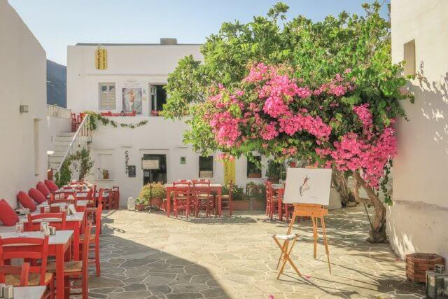 Sifnos Griechenland Apollonia
