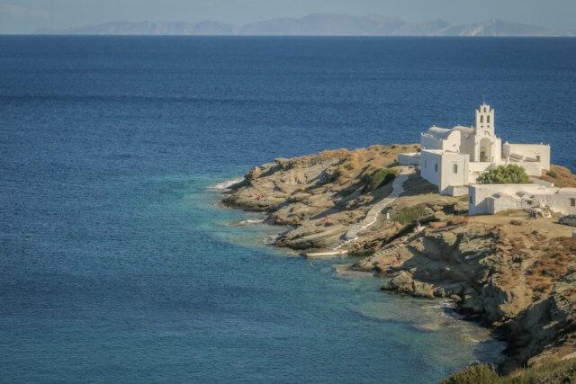 Sifnos Griechenland Chrisopigi