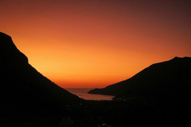 Sifnos Griechenland Kameras Sonnenuntergang
