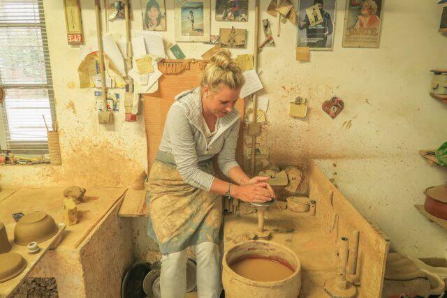 Sifnos Griechenland Apostolidis Ceramics Töpferworkshop
