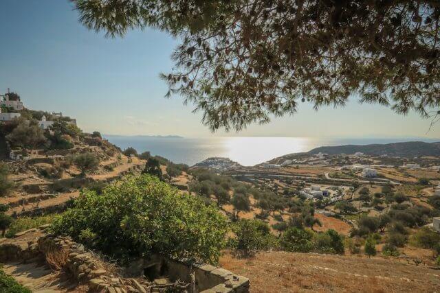 Sifnos Griechenland Wandern Aussicht