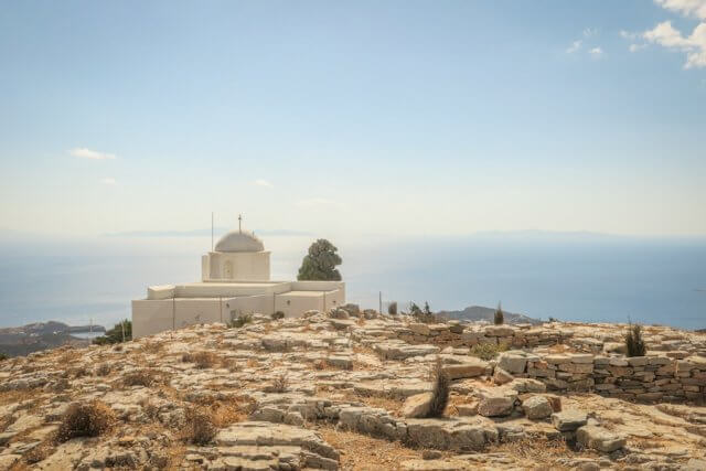 Sifnos Griechenland Agios Andreas Kirche