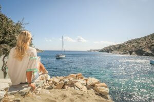 Sifnos Griechenland Faros Meer