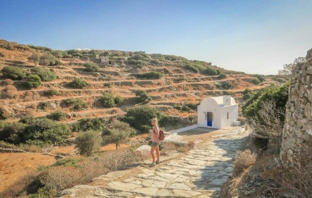 Sifnos Griechenland Sifnos Hiking Wandern