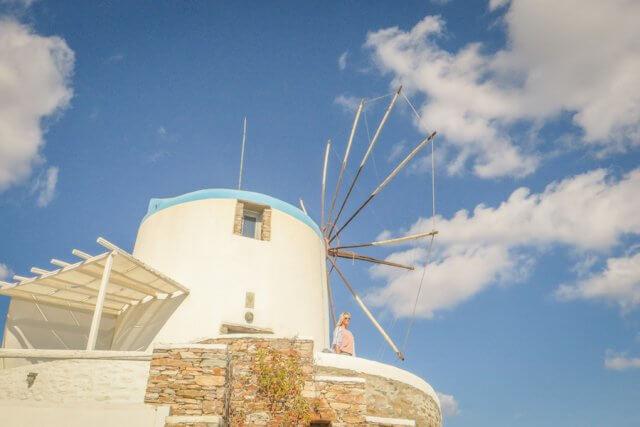 Sifnos Griechenland Windmill Bellavista Hotel