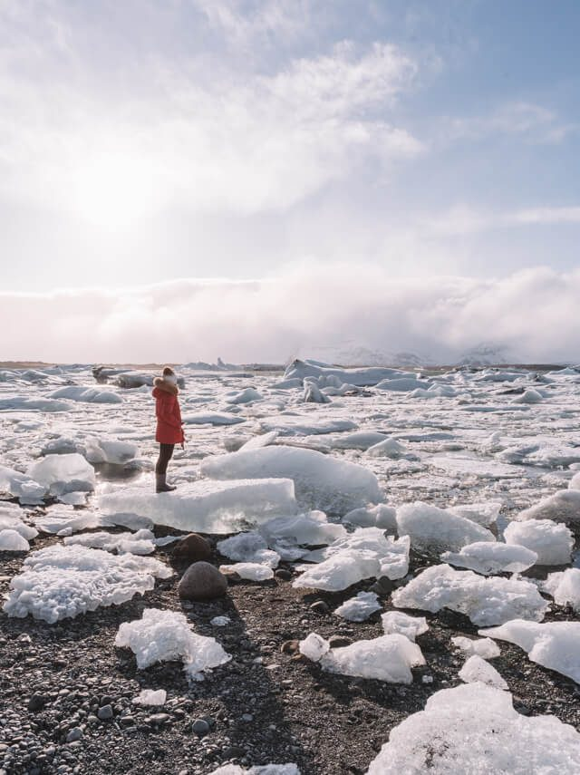 Island Rundreise Joekulsarlon Gletscherlagune