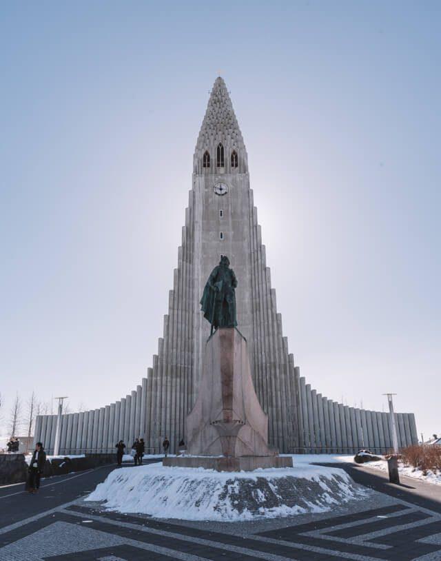 Island Rundreise Reykjavik Hallgrimskirche