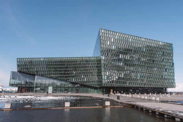 Island Rundreise Reykjavik Harpa Konzerthalle