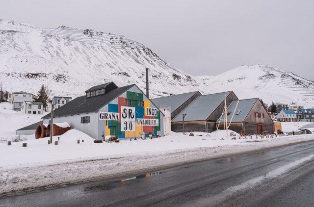 Island Siglufjoerdur Heringsmuseum