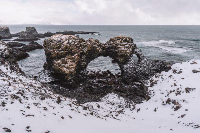 Island Urlaub Halbinsel Snaefellsnes Arnarstapi