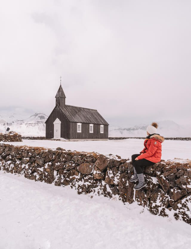 Island Urlaub Halbinsel Snaefellsnes Budakirkja