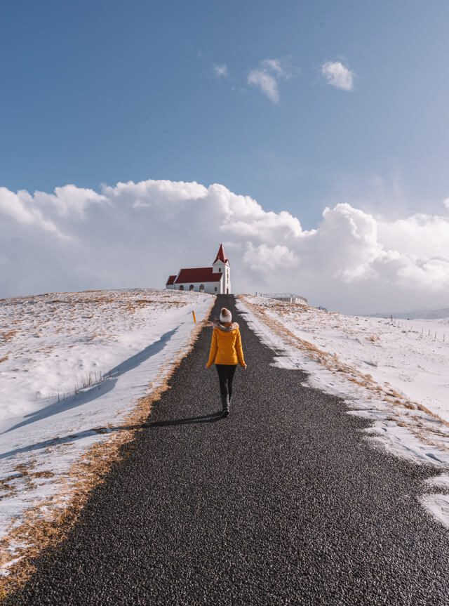 Island Urlaub Halbinsel Snaefellsnes Ingjaldsholskirkja