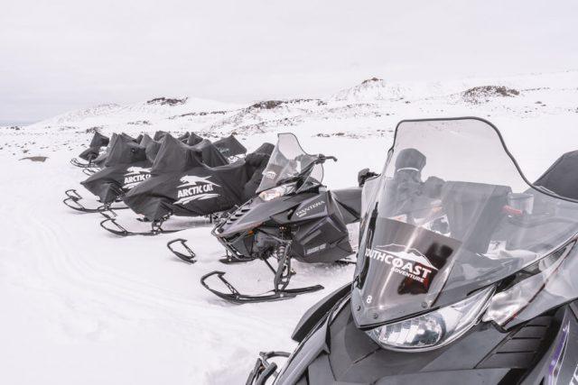Island Urlaub Schneemobil Tour Gletscher Eyjafjallajoekull-2