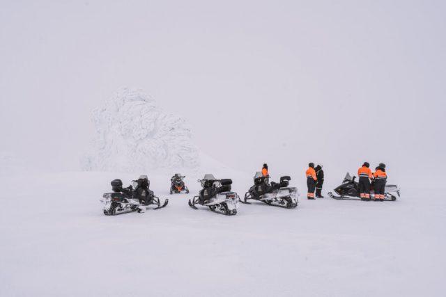 Island Urlaub Schneemobil Tour Gletscher Eyjafjallajoekull-3