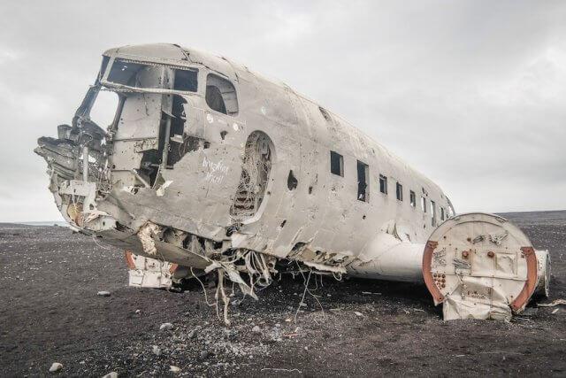Island Urlaub Tipps Flugzeugwrack Solheimasandur Lavastrand