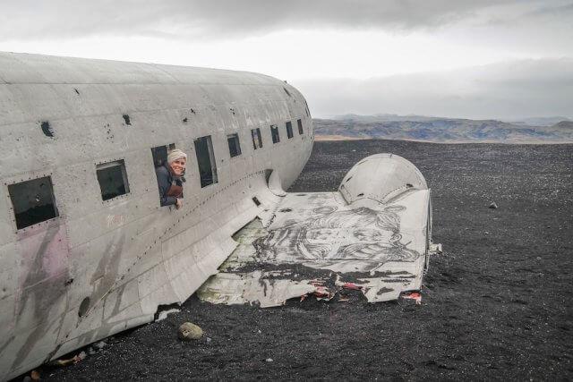Island Urlaub Tipps Flugzeugwrack Solheimasandur