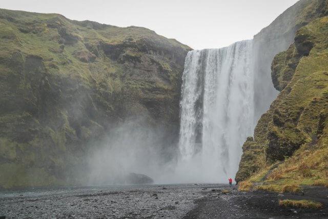 Island Urlaub Tipps Skogafoss