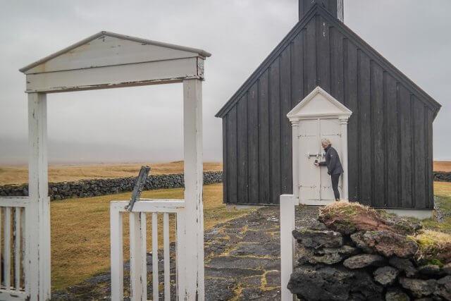 Island Urlaub Tipps Kirche Boudir