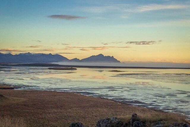 Island Urlaub Tipps Sonnenaufgang