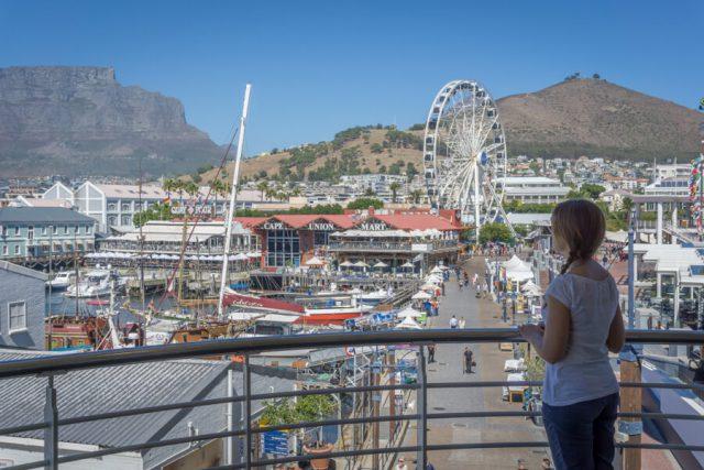 Kapstadt Urlaub Waterfront Riesenrad