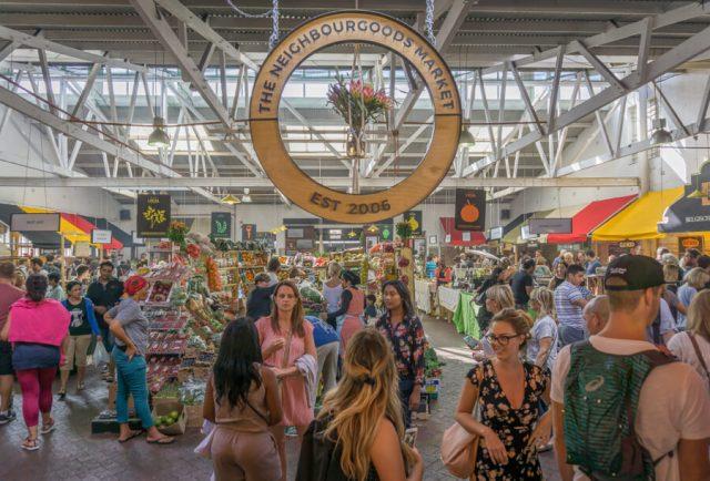 Kapstadt Urlaub Woodstock Neighbourgoods Market
