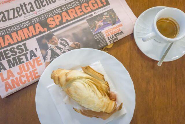 Norditalien Parma Kulinarisch Cafe Espresso