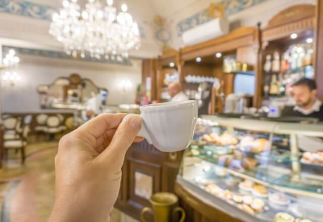 Norditalien Parma Kulinarisch Espresso