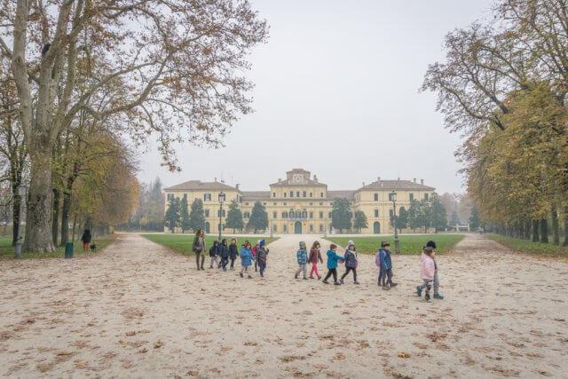 Norditalien Parma Kulinarisch Parco Ducale