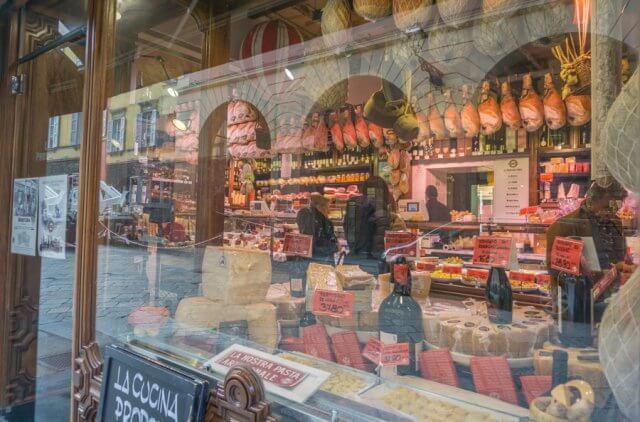 Norditalien Parma Kulinarisch Schinken Parma