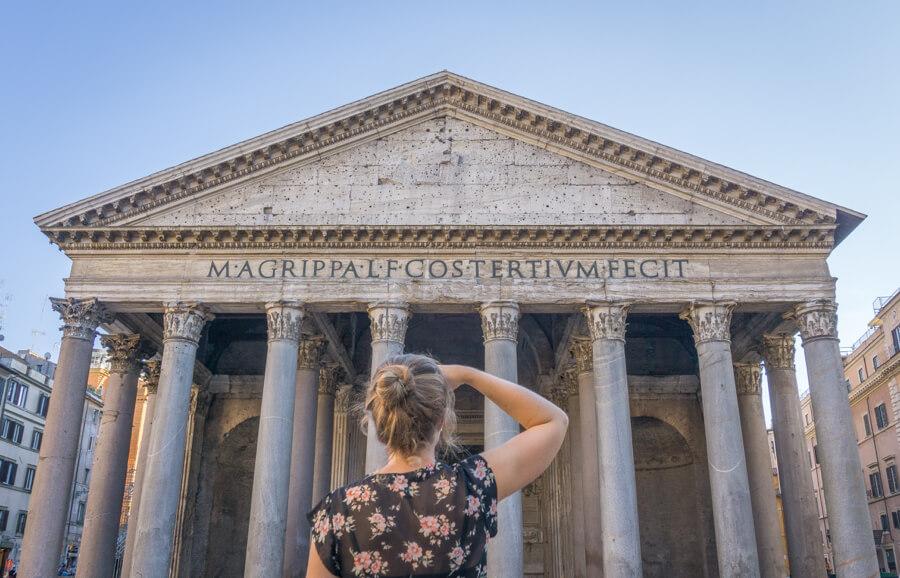 Sehenswuerdigkeiten Rom Pantheon