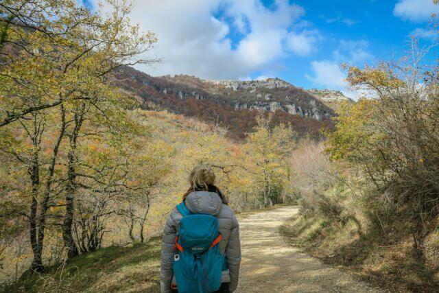 Navarra Spanien Wandern