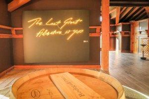 Navarra Spanien Bodega Otazu Pamplona Weingut Führung Kunst