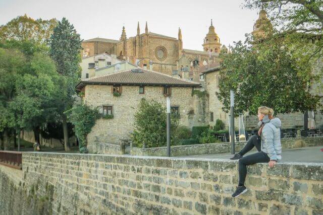 Navarra Spanien Navarra Spanien Pamplona Altstadt Aussicht